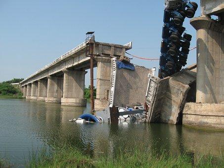 Bridge, Collapse, Damage, Bridge Collapse