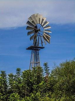 Cyprus, Famagusta District, Windmill, Traditional