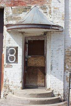 Warehouse, Door, Industrial, Building, Entrance