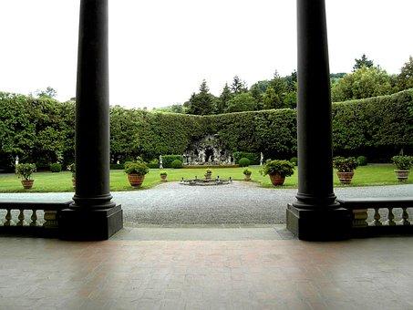 Villa Oliva, Lucca, Tuscany, Italy, Facade