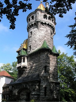 Middle Ages, Fairytale Tower, Tower, Building