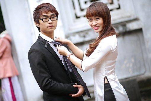 Friendship, Couple, Chinese, Japanese, Japan, Asia