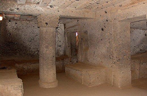 Necropolis, Grave, Italy, Etruscan