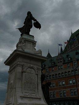 Samuel De Champlain, Quebec City, 1608, History