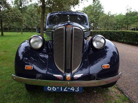 Dodge, D8, 1938, Car, Auto, Automobile, Close-up, Macro