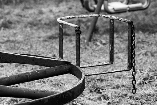 Swing, Child, Children, Game Device, Park, Playground