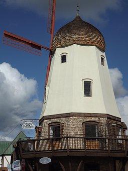 Windmill, Solvang, California, Restaurant