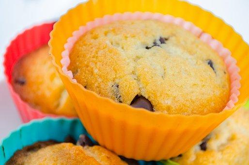 Muffins, Muffin, Food, Bakery, Breakfast, Break, Sweet