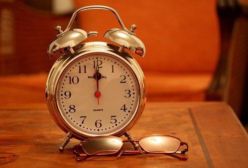 Time, Reveil, Evening, Night, Reading, Bezel, Orange