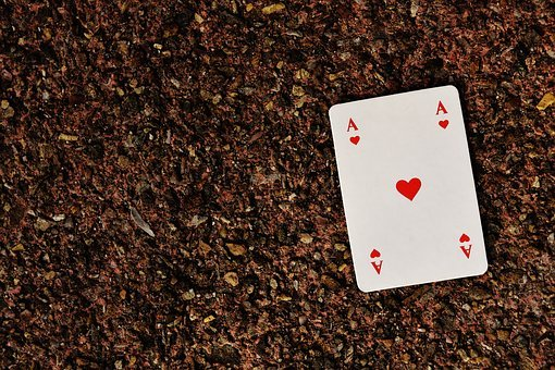 Playing Cards, Ace, Card Game, Gambling, Heart