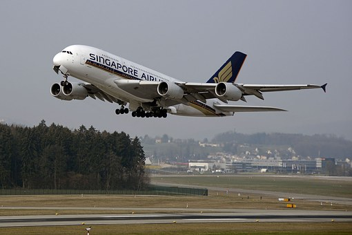 Aircraft, Start, Take Off, Airbus, Airbus 380, Airport