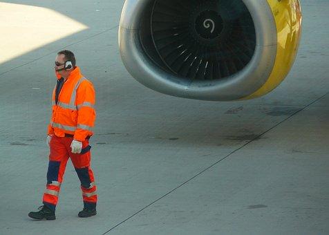 Aircraft, Fly, Machine, Aviation, Airport, Runway
