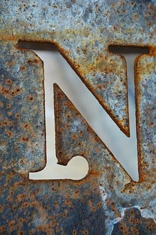 Letter N, N, Alphabet, Letter, Abc, Collection, Shape
