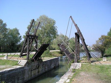 Bridge, Camargue, Arles, Bridge Van Gogh, Monuments