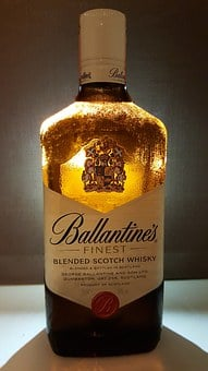 Ballantine's, Scotch Whiskey, Finest Whiskey