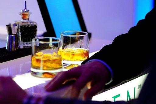 Bar, Drinks, Glasses, Alcohol, Cocktail, Beverage