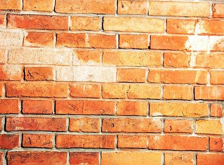 Brick Wall, Block, Feldbranntstein, Festival, Built