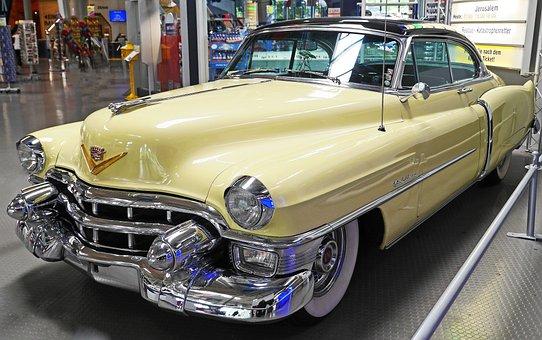Cadillac Convertible Coupé, Series 62, Built In 1953