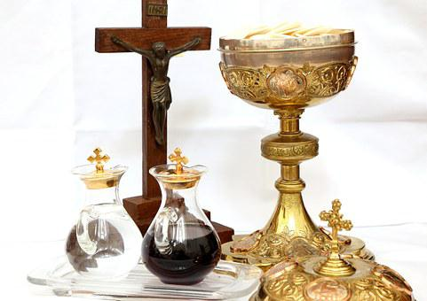 Cross, Crucifix, Chalice, Wine, Water, Eucharist