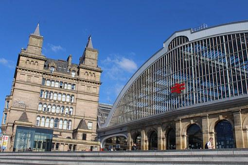Liverpool, City, Train Station, England, Uk, Travel