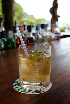 Rum, Cocktail, Bar, Beach Bar, Alcohol, Drink, Ice
