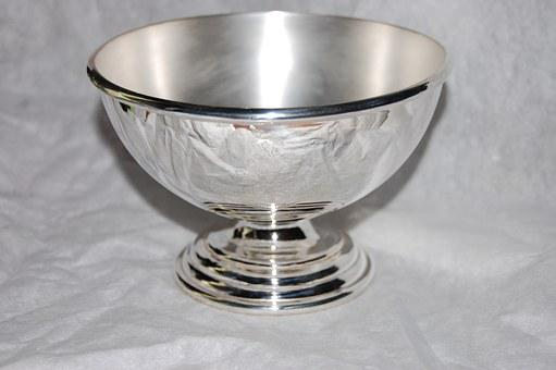 Cup, Silver, Trophy, Goblet, Metal, Prize, Award
