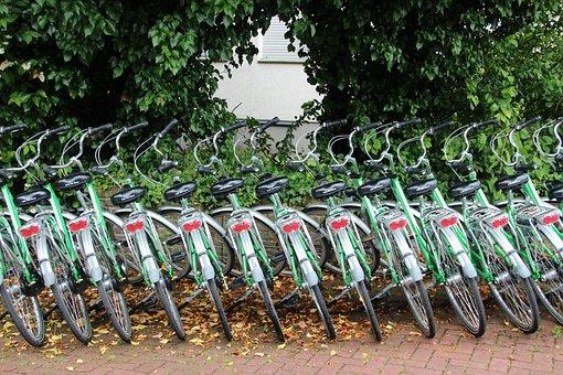 Bike, Bicycle Rental, Cycling, Rental Station, Series
