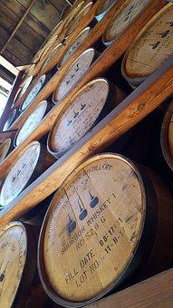 Kentucky, Bourbon, Whiskey, Barrels, Distillery