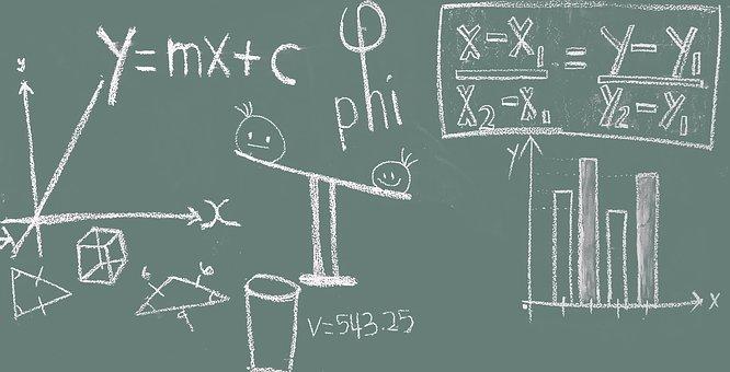 Math, Blackboard, Education, Classroom, Chalkboard