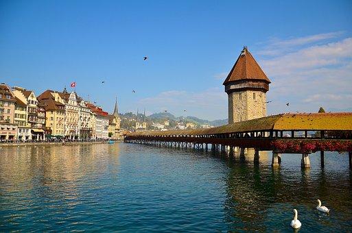 Switzerland, Lucerne, Europe
