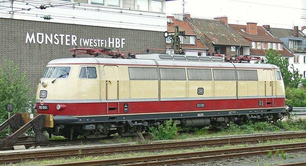 Db, Series 103, Quick Driving Locomotive, Fast Traffic