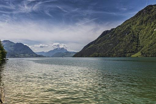 Lake, Landscape, Uri, Lake Lucerne Region, Föhnstimmung