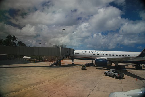 Airport, Gate, Aircraft, Flight, Departure, Aviation