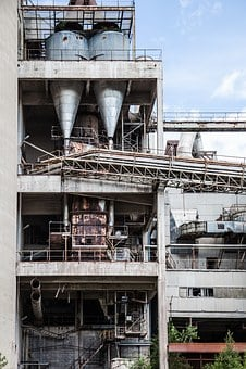 Factory, Empty, Abandoned, Industrial, Industry, Metal