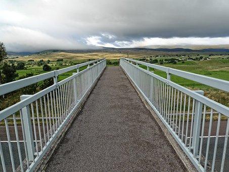 Bridge, Perspective, Intrusion, Crossing