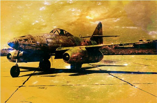 Messerschmitt, Me 262, Jet, Aircraft, World War