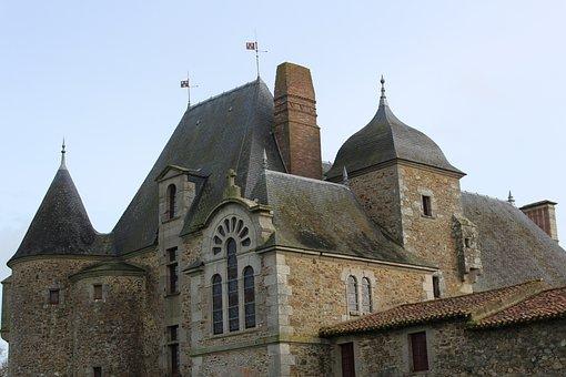 Logis Of The Chabotterie, Castle, France, Vendée
