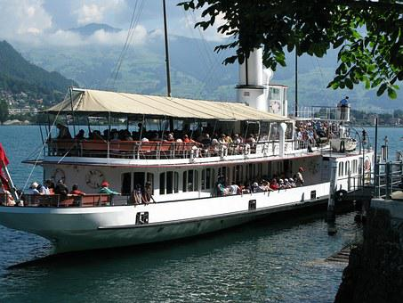 Shipping, Lake Lucerne Region, Lucerne, Lake