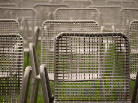 Chairs, Metal, Event, Rows Of Seats, Seats, Auditorium