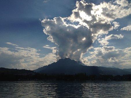 Lake Lucerne Region, Lucerne, Switzerland, Mountain