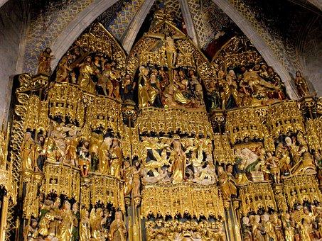 Nuestra Señora De La Encina, Church, Spain, Interior