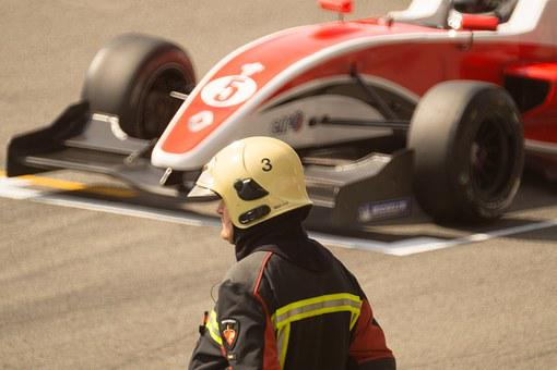 Race Car, Formula One, Fireman, Safety, Tarmac, Car
