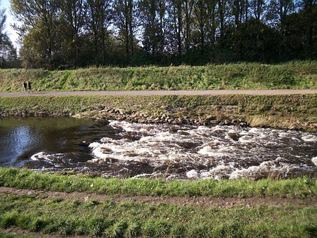 Rapids, Boats, Sale, Water, Park, River, Mersey