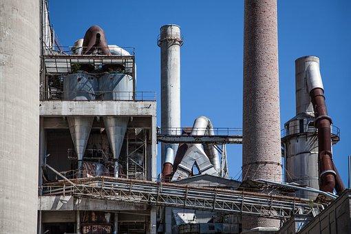 Old Factory, Metal, Rust, Industry, Steel, Factory