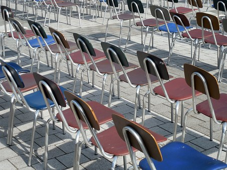 Chairs, Chair Series, Rows Of Seats, Seats, Sit