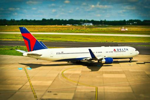 Aircraft, Airport, Departure, Travel, Transport