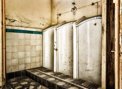 Lost Places, Toilet, Urinal, Pforphoto, Men, Pee, Wc
