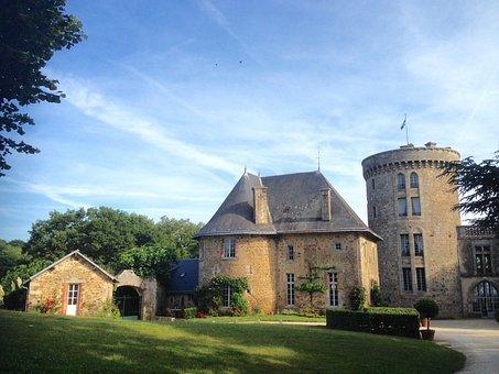 Château De La Flocellière, Vendée, Keep