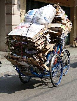 Vietnam, Asia, Transport, Garbage, Disposal, Waste