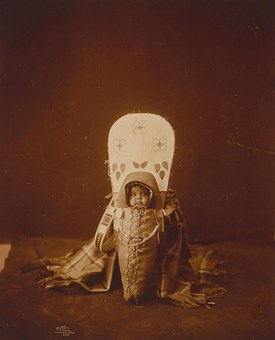 Historical, Vintage, Sioux, Indian, American, Baby